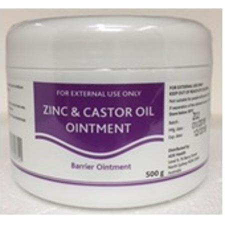 B&M Zinc & Castor Oil Ointment 500g