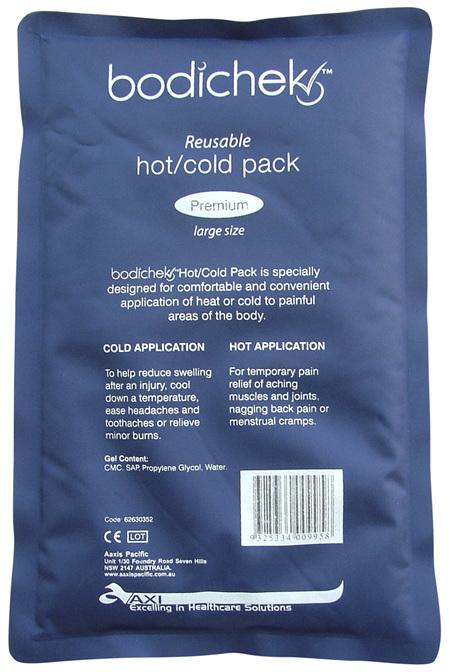 BodiChek Hot/Cold Pk Premium Lge 180x280mm