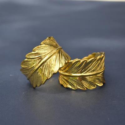 Bohemian Feather Napkin Ring