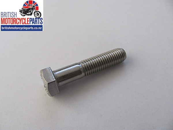 "Bolt - 5/16""-24 x 1-1/2"" Stainless Steel (G304) - Hex Head - Partial Thread"