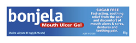 Bonjela Mouth Ulcer Gel Fast Acting 15g