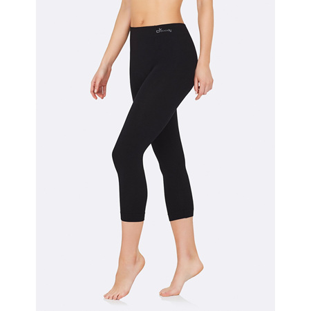 Boody 3/4 Leggings Black - Large