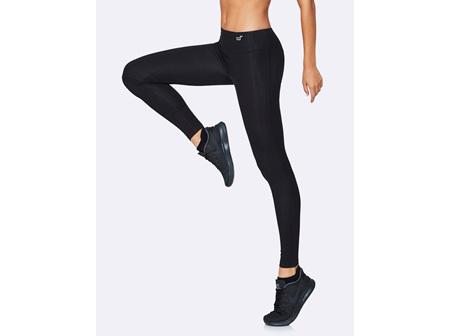 Boody Active Women's Full Length Tights Black Large