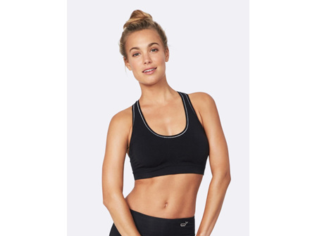 Boody Activewear Racer Back Bra - Black