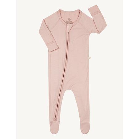 Boody Baby Long Sleeve Onesie - 0-3 Months - Rose