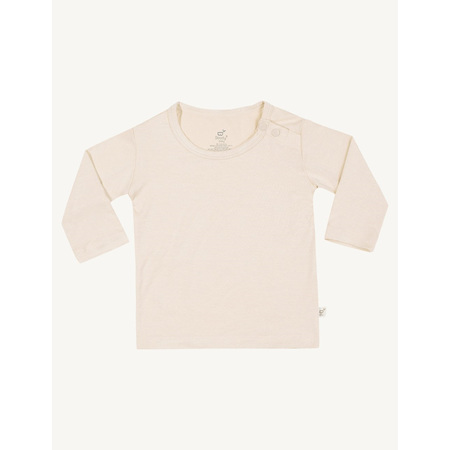 Boody Baby Long Sleeve Top - 3-6 Months - Chalk