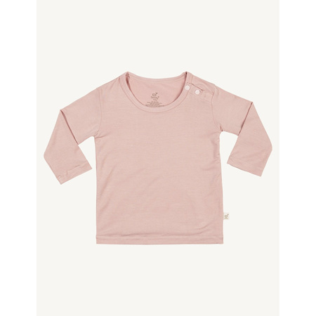 Boody Baby Long Sleeve Top - 6-12 Months - Rose