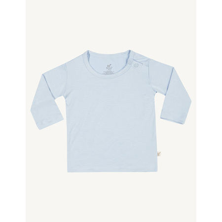 Boody Baby Long Sleeve Top - 6-12 Months - Sky