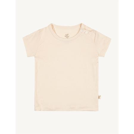 Boody Baby T-Shirt - 3-6 Months - Chalk