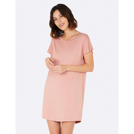 Boody Goodnight Nightdress - Small - Dusty Pink