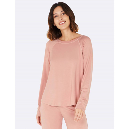 Boody Goodnight Raglan Sleep Top - Medium - Dusty Pink