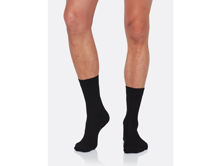 Boody Men's Business Socks Black 11-14