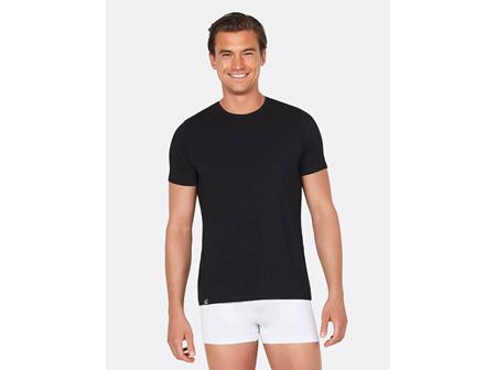Boody Men's Crew Neck T-Shirt Black Large