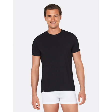 Boody Men's Crew Neck T-Shirt Black - Small