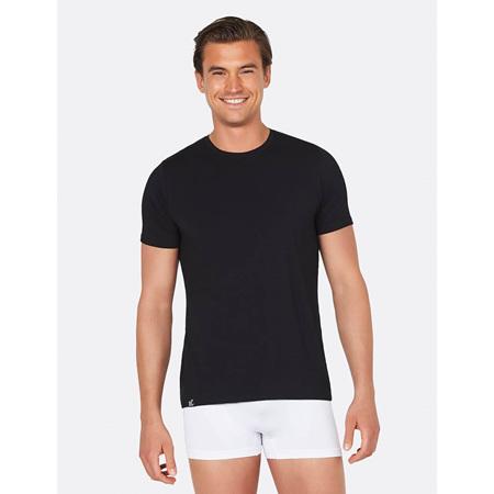Boody Men's Crew Neck T-Shirt Black - XL