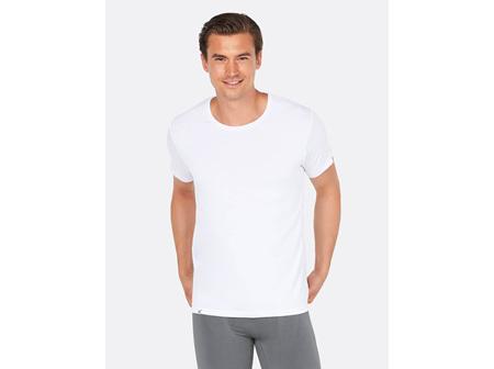 Boody Men's Crew Neck T-Shirt White Black