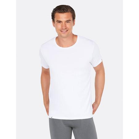 Boody Men's Crew Neck T-Shirt White - XL