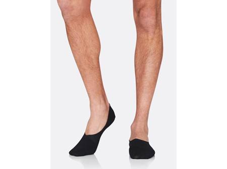 Boody Men's Hidden Sock Black 6-11