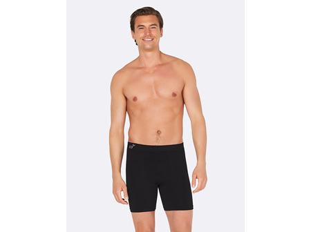 Boody Men's Mid Length Trunks Black XL