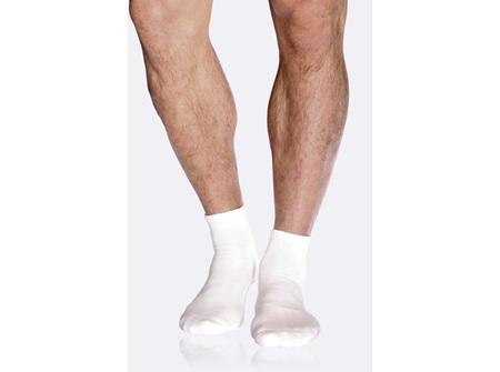 Boody Men's Sport Ankle Socks White 6-11