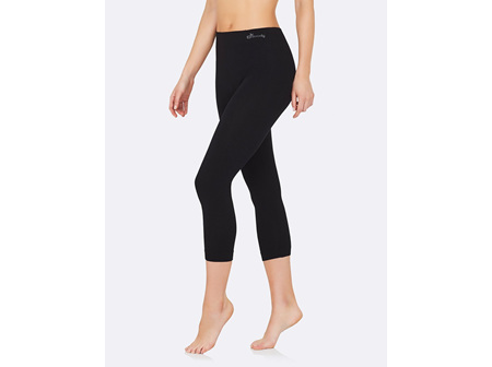 Boody Women's 3/4 Leggings Black Large