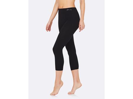 Boody Women's 3/4 Leggings Black Medium