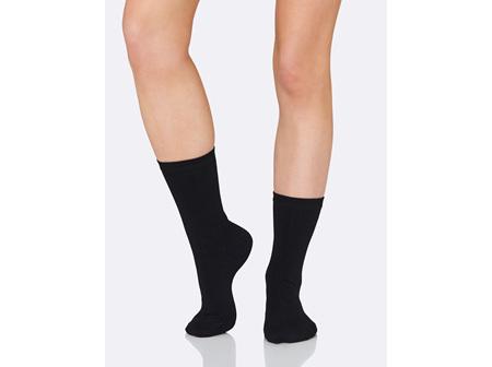 Boody Women's Everyday Sock Black 3-9