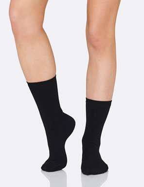 Boody Women's Everyday Sock Black 3-9