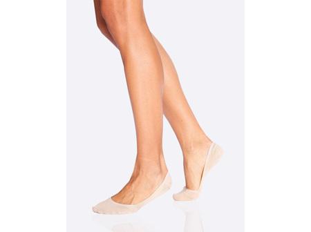 Boody Women's Low Hidden Socks Nude 3-9