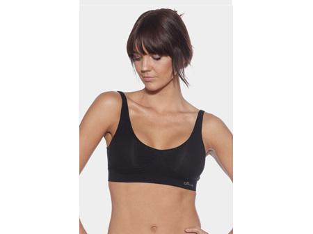 Boody Women's Padded Bra Black Large
