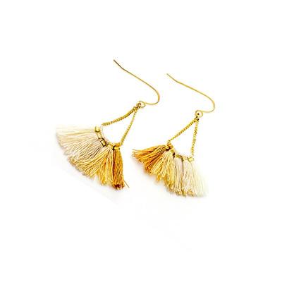 Borla Earrings - Gold