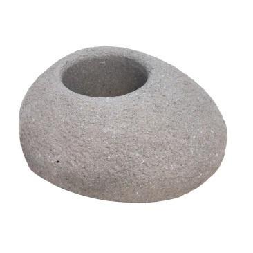 Boulder Stone Planter - 20.5cmh