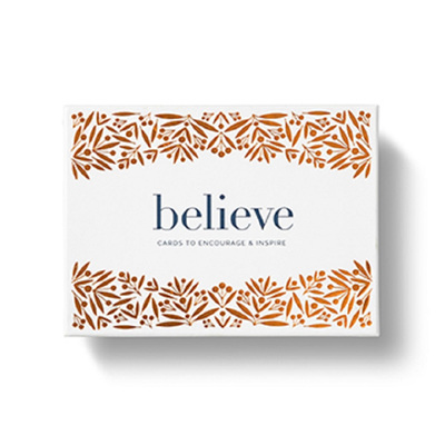 Boxed Note Cards - Believe