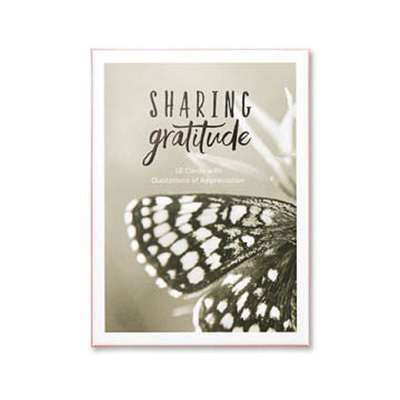 Boxed Note Cards - Sharing Gratitude