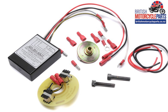 Boyer Electronic Ignition - BSA A75 Triumph T150 T160 Triples - 3 Cylinder