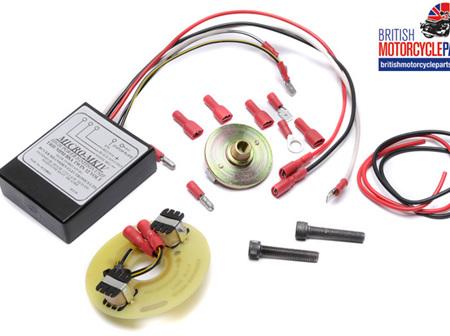 Boyer Ignition Kit 12v Triumph BSA Singles