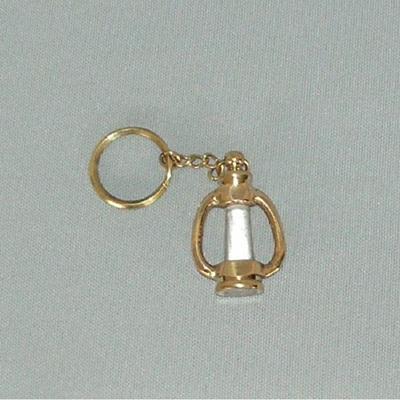Brass Lamp Key Ring