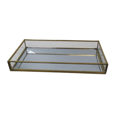Brass Mirror Tray