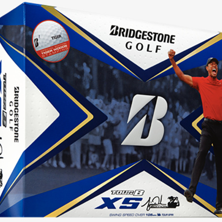 Bridgestone 2020 Tour B-XS TW Edition 'Tiger' dozen Balls