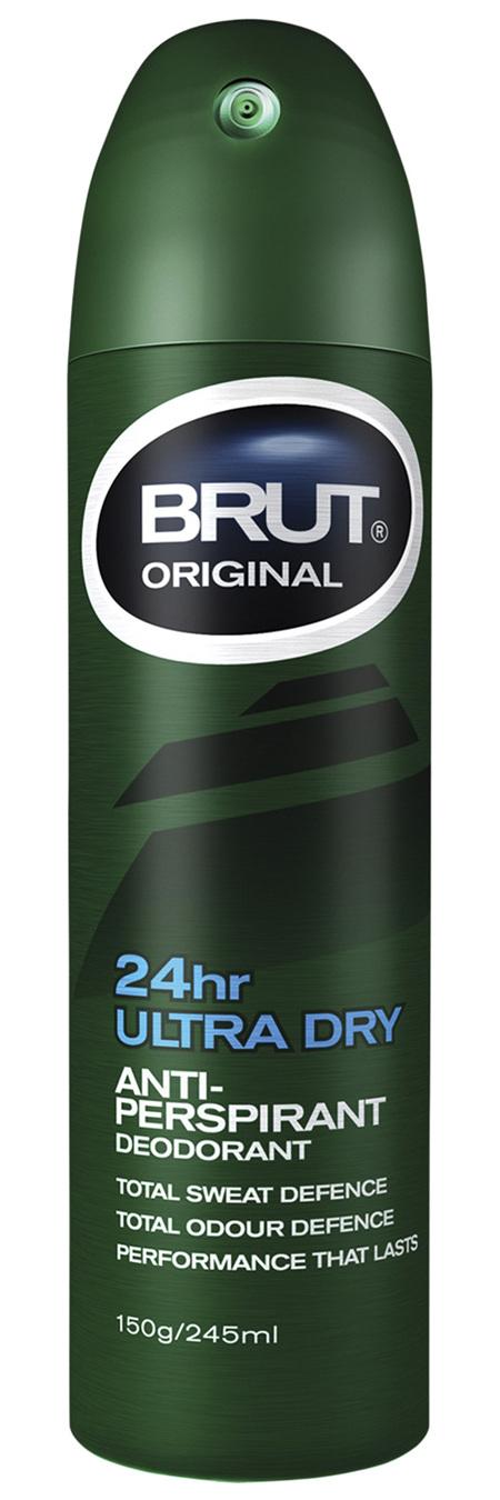 BRUT ORIGINAL Ultra Dry Anti-Perspirant Deodorant