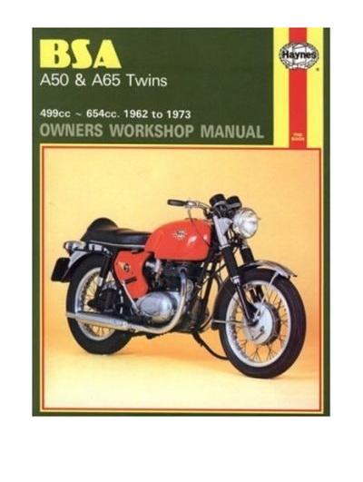 BSA A50 & A65 Twins Workshop Manual