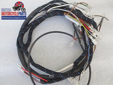 BSA A50 A65 Wiring Loom 1969-70 Inc. Oil Light Switch