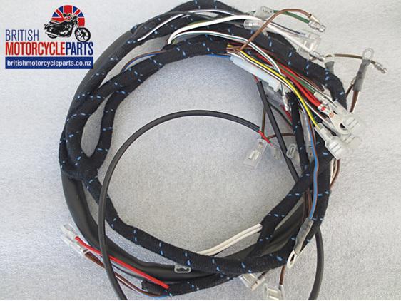 BSA A50 & A65 Wiring Loom / Harness 1969-70 - Inc. Oil Light Switch
