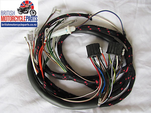 BSA A50 and A65 Cloth Wiring Loom / Harness 1966 - 1967