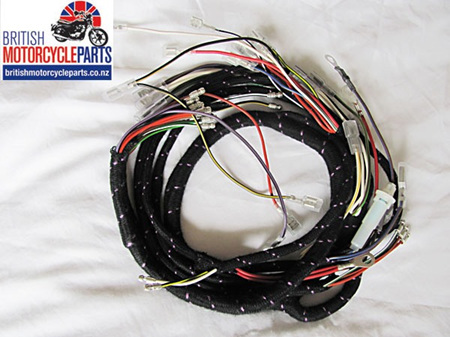 BSA A65 Main Wiring Loom 1971-73