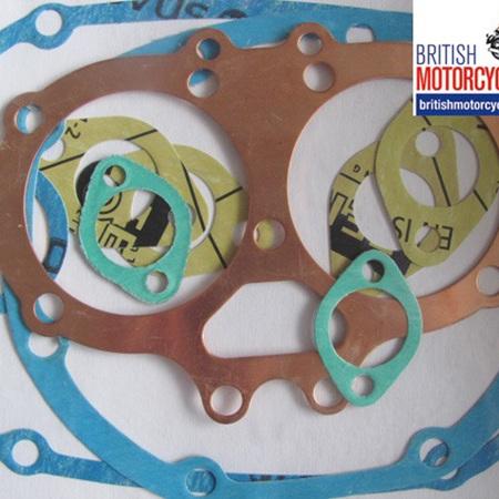 BSA A65 Top End Gasket Set 1971-73 - D338BSA