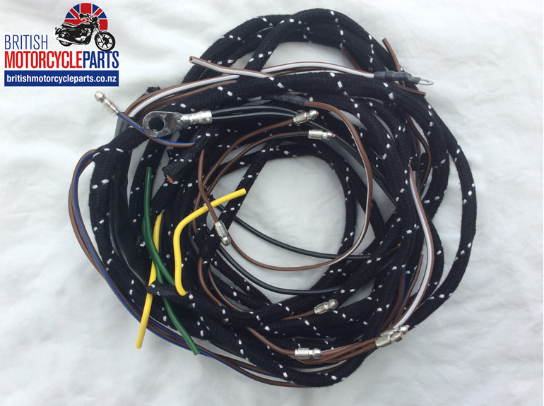 BSA A7 A10 Wiring Loom 1954-62 - British motorcycle Parts - Auckland NZ