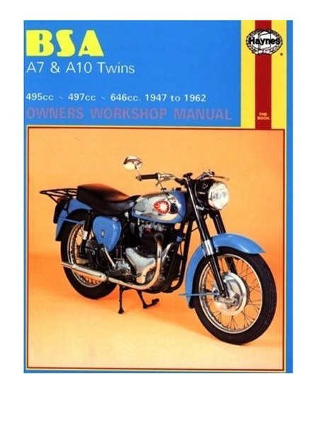 BSA A7 & A10 Workshop Manual