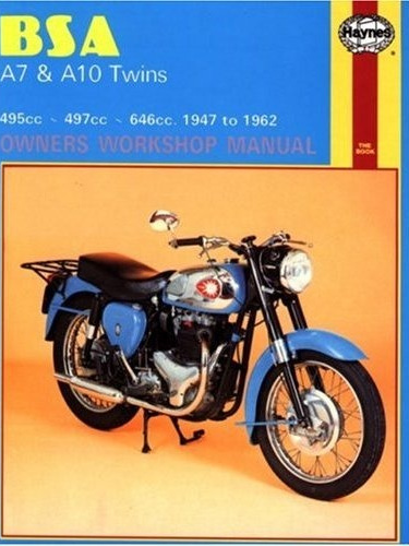 BSA A7 & A10 Workshop Manual