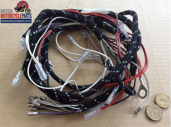 BSA A75 Rocket 3 Main Loom 1971-73 - 54960717 - British Motorcycle Parts Ltd NZ